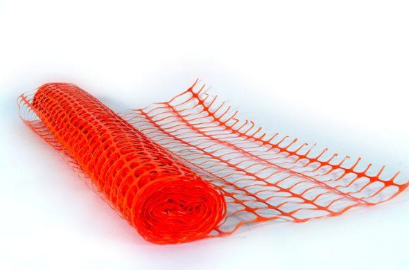 גדר רשת בטיחות מפלסטיק